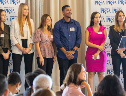 Five School of Communication Students Awarded PRSA Miami Scholarships