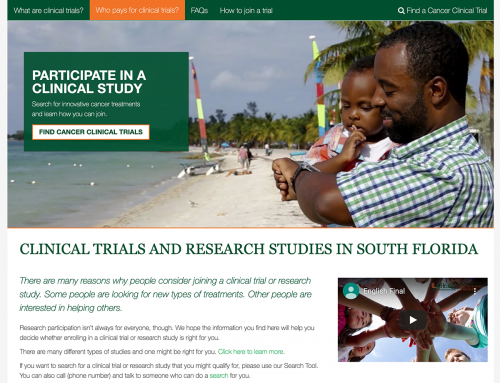 Clinical Trials Website