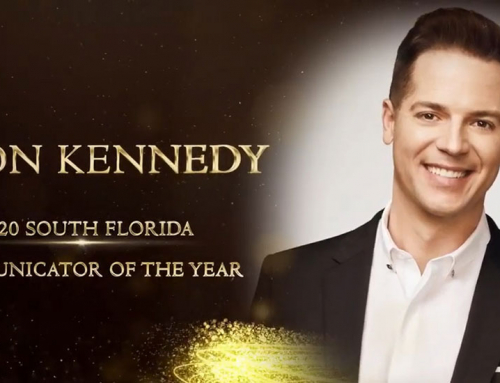 E!'s Jason Kennedy Presented with the 2020 South Florida Communicator of the Year Award