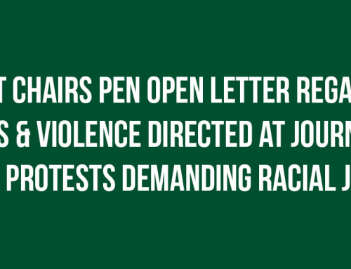 Knight Chairs Pen Open Letter Regarding Arrests & Violence Directed at Journalists During Protests Demanding Racial Justice