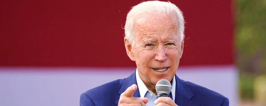 Former vice president Joseph Biden. Photo: Associated Press