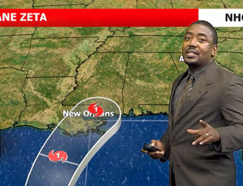 Graduate Student Delivers a New Twist on Weather Forecasts